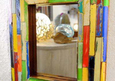 Miroir Pyrogue Mosaïc 40x50