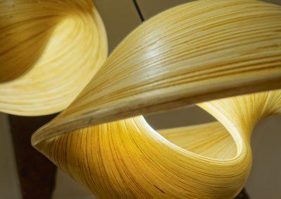 Lampes Ombak Bambou Détail
