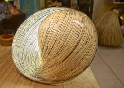 Lampes Ombak Bambou Chevet
