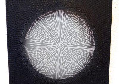 Tableau Akène, 45x45