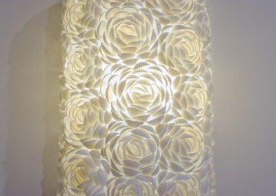 Applique murale Coquillage