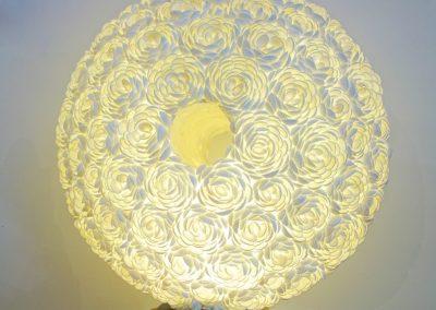 Lampe Torus, Coquillage, 50 cm