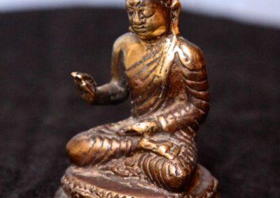 Buddha Siddharta, Bronze, 7 cm de haut