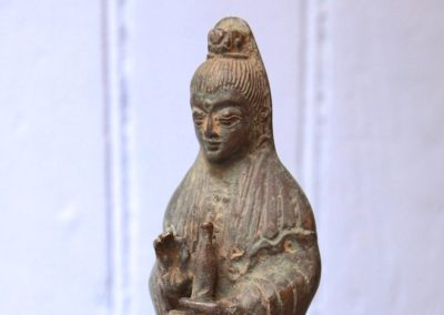 Dewi Guanyin, Bronze, 20 cm de haut