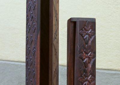 Plumiers, bois de Sono, 20 et 32 cm