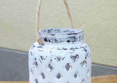 Lanterne Milky S, Terracota, 30 cm