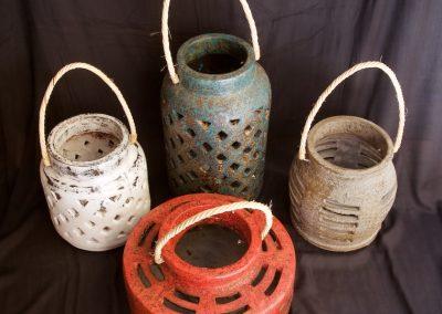 Ensemble Lanternes, Terracota