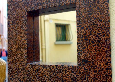 Miroir Cannelle, 40x40