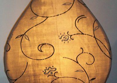 Lampe Lucas textil