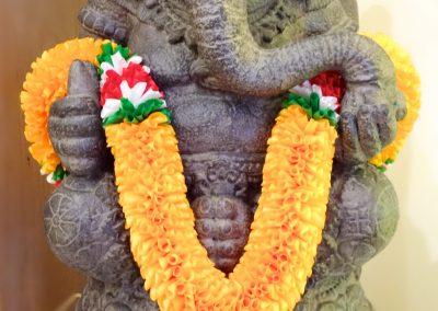 Ganesha, pierre reconstituée 65 cm