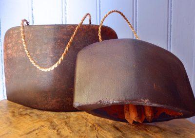 Cloches Buffles en bois