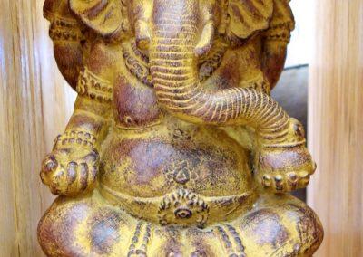Ganesha, 45 cm, pierre reconstituée, face