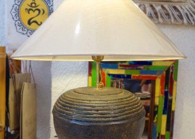 Lampe Boule Modern, Terra-cota