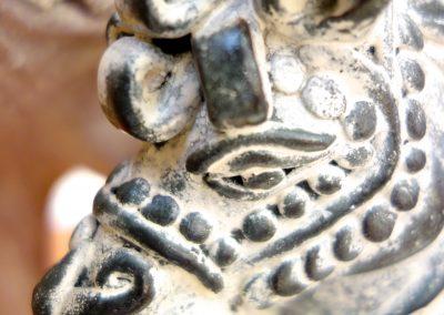 Cheval, Terra-cota, 20 cm, détail tête