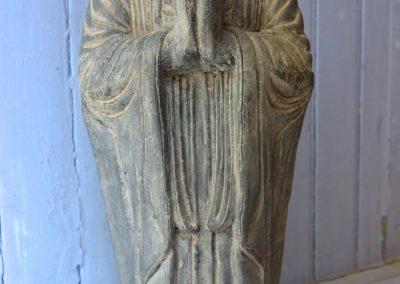 Buddha Siddharta, pierre reconstituée, 60 cm
