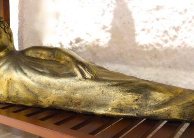 Buddha Siddharta, Terracota, 1m