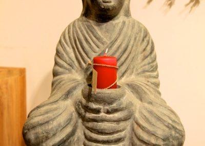 Buddha Siddharta, Terracota, 50 cm