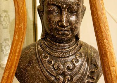 Buste de Shiva, Terracota, 60 cm