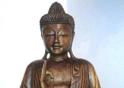 Buddha Siddharta, Bois de Suar, 1m