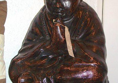 Shaolin, terra-cotta, 50 cm