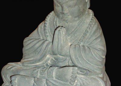 Shaolin, résine, 20 cm