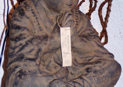 Shaolin, pierre reconstituée, 50 cm