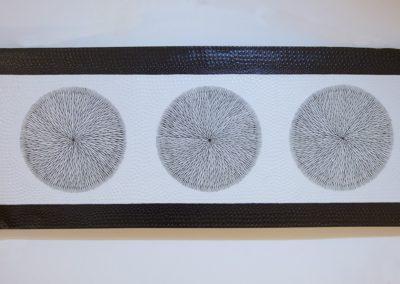 Tableau 3 Akènes, 120x45, acrylique
