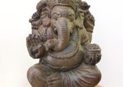Ganesha, pierre reconstituée, 25 cm