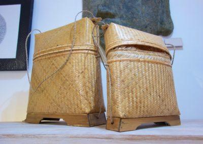 Musettes, bambou, Lombok