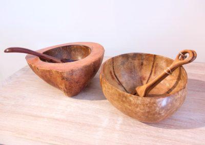 Bols Coquilles de coco, Java