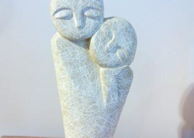 Le couple 40 cm, Albizia, Java