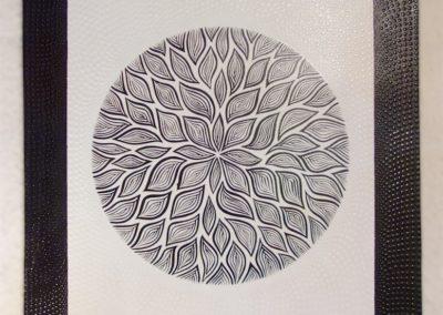 Tableau AkarBani, acrylique, 70x90