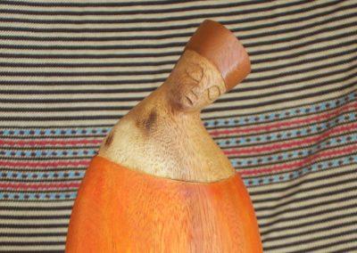 Derviche Man, bois d'Albizia, 26 cm