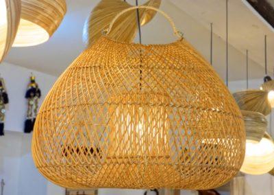 Lampe Tas, Rattan,  52(L) x 45(P) X 40(H)