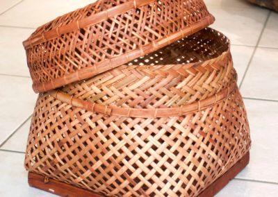 Panier, rattan et Bambou, Java